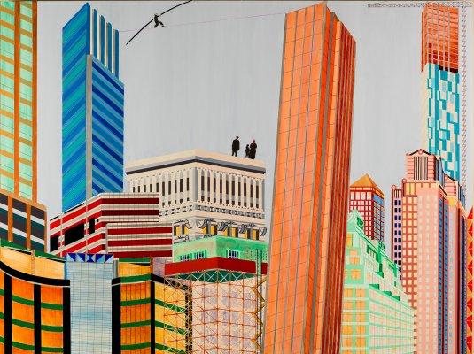 Cityscape: New York
