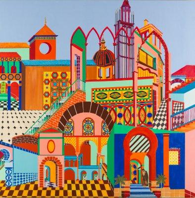 Cityscape: Spain