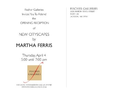Cityscapes Invitation